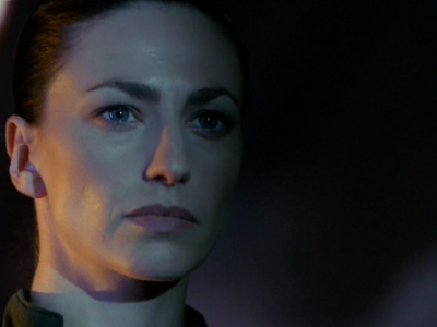 "Aeryn about to risk her life to save others. (""Into the Lion's Den, Part 2,"" 3.21)"